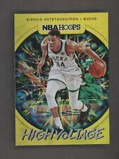 2019-20 Panini NBA Hoops High Voltage Giannis Antetokounmpo Milwaukee Bucks