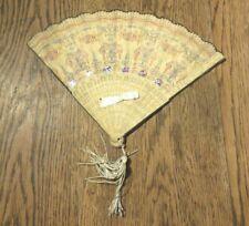 More details for nice antique  victorian christmas decoration fan