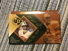 1997 Upper Deck UD3 football NFL 5 pack lot