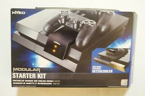 NEW ~ NYKO ~ Modular Starter Kit For PS4 ~ Controller Charger and Intercooler