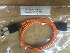 1m Fiber Optic Multi-Mode Duplex Patch Cable Cord SC 3ft MM Zirconia Connectors