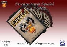 Bushido BNIB Savage Wave Card Pack 2 GCTBSW024