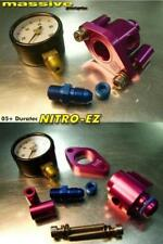 Nitro-EZ Nitrous Oxide N2O Fuel Rail Take-off Adapter Mustang Shelby GT500 '07+