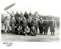 10x8 Battle of Britain RAF photo WWII 253 squadron signed Bob INNES