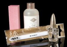 Bio Sculpture GEL REMOVER KIT 4 items inc PROTEIN BASE false nails tips