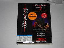 Wizardry Trilogy 2  (PC, 1993) IBM, DOS, Cluebook, Vintage Sirtech Member Card
