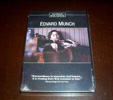 EDVARD MUNCH Cinema of Peter Watkins Artist Biography Drama Norway Arts DVD NEW
