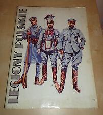 LEGIONY POLSKIE BY MICHAL KLIMECKI & WLADYSLAW KLIMCZAK - HARDBACK BOOK 1990