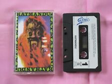 KATMANDU s/t Rare OPP 1991 UK Epic Cassette Tape Hard Rock Fastway Krokus Asia