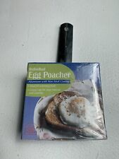 New listing Individual Single Egg Pocher Aluminum With Non Stick Coating New