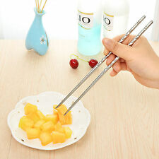 Chopsticks 5 Pair Metal Chop Sticks Stainless Steel Korean Rice Sushi Chess
