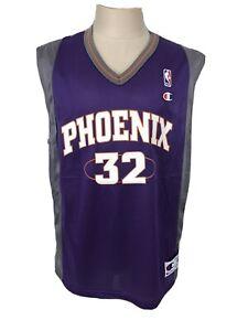 Jason Kidd Phoenix Suns Vintage Champion Jersey 40 Medium Purple NBA Basketball