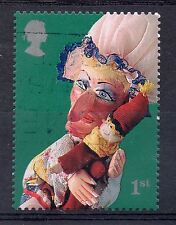 GB = 2001 1st NVI Punch & Judy. SG 2231 (Self-Adhesive). Fine Used.