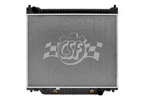 Radiator-1 Row Plastic Tank Aluminum Core CSF 3673