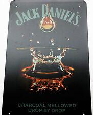 JACK DANIELS (10) METALLDOSE ZEICHEN vintage cafe kneipe brau garage retro küche