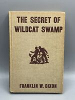 The Hardy Boys: The Secret Of Wildcat Swamp Hardcover 1952 Franklin Dixon
