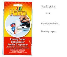 224 Hama Beads Papel planchado 4 unidades, Ironing paper, Original