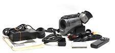 Canon ES5000 Hi-8 Video Camera, Charger, Batteries, Remote, etc