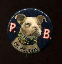 P.B. Van Nostrand'S Ale Bunker Hill Breweries - 1896 Beer Pin - Black Variation