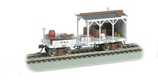 WESTERN & ATLANTIC RR OLD-TIME BALCKSMITH MOW CAR BY BACHMANN TRAINS  HO-SCALE