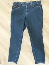 D.Jeans Womens Size 16W Dark Blue Skinny Jegging Jean's Stretch