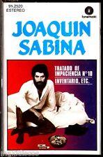 CAS - JOAQUIN SABINA - TRATADO DE IMPACIENCIA Nº 10,  INVENTARIO... (PRECINTADO)