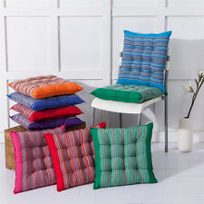 SOFT Thick Office Chair Pads Seat cushion floor Cotton stripe Chunky room Garden