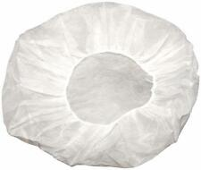 """Superior Shield Safety Disposable Bouffants White Cap 24"""" Size 10000 Pieces"""