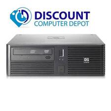 HP rp5700 Desktop Computer Windows 10 PC Dual Core 2.13GHz 4GB 160GB DVD WiFi