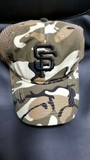 San Francisco SF Giants Camo Camouflage Trucker Hat/Cap BRAND NEW