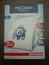 BOX OF GENUINE MIELE VACUUM CLEANER BAGS GN S400 S600 S800 S2000 S5000 S8000
