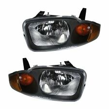 New Chevy Chevrolet Cavalier 03-05 Headlights Headlamps Pair Set Left & Right