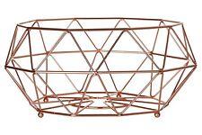 Copper Plated Vertex Kitchen Roll Fruit Cookbook Basket Mug Tree Utensil Holder