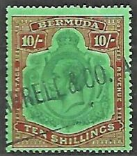 BERMUDA Sc 53  USED postmark COMMERCIAL  FVF