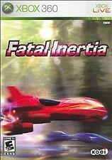 NEW! Fatal Inertia (Korean Import NTSCJ) (Microsoft Xbox 360) BRAND NEW & SEALED