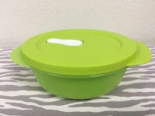 Tupperware Crystalwave Microwave Container 2 1/2 Cups Lime Green New