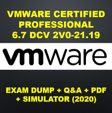 VMware Certified Professional 6.7 DCV 2V0-21.19 Exam Q&A+SIM (2020)