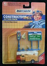 MATCHBOX CONSTRUCTION ACTION PACK - FITS ALL MOTORCITY PLAY SETS NEW in BLISTER