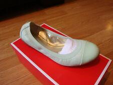 NIB New Women Coach Dalia Nappa Leather Ballet Flats Mint 7.5