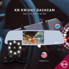 KN R52 Rearview Mirror Dual Dashcam Originate in US