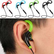 Wireless Sport Stereo In-Ear Bluetooth Headset Earphone Headphone For iPhone Lot