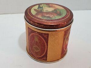 Vintage Theme Coca Cola  Puzzle Tin Can