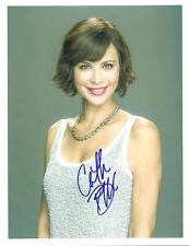 CATHERINE BELL SIGNED 8X10 PHOTO COA FROM N.A. # 327613