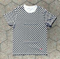 Supreme x Hanes Checkered T-shirt