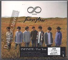 Infinite: For you - Japanese Album (2015) Japan /CD & 24p BOOKLET & CARD TAIWAN