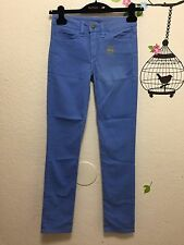 American Apparel The Slim Slack Stretch Bull Denim Light Royal Blue 25