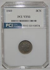 1869 Three Cent Nickel very nice