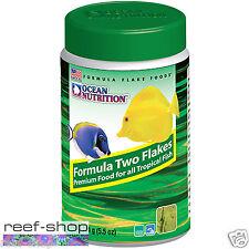 Fish Food Flakes Ocean Nutrition Formula Two 154 gram FREE USA SHIPPING