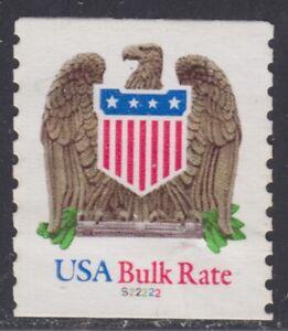 "1904 (10¢) Eagle & Shield #S22222 used pnc ""Hi-Brite"" paper"