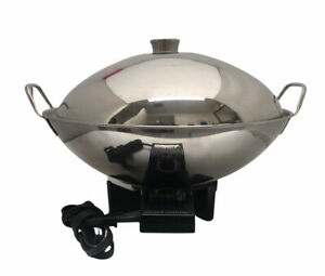 Farberware Stainless Steel Electric 7 qt. Dome Wok 343A